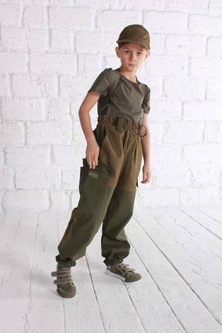 Костюм военный детский ARMY KIDS Горка 140-146 хаки 16-260, фото 2
