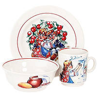 "Детский набор посуды 3пр. ""Гуси-лебеди"" BergHOFF 25155"