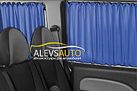 Шторы Mercedes Benz Vito / Мерседес Вито 2003-2010 Синие