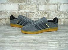 Мужские кроссовки Adidas Gazelle Utility Grey , фото 2