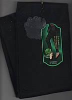 Гамаши женские бесшовные на меху со стразами Диана, XL-5XL размер, чёрные, 6126