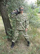 Костюм военный камуфляжный детский ARMY KIDS Киборг 164-170 мультикам 15-255, фото 2