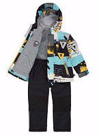 Демисезонный комплект 3 в 1 для мальчика 2-10 лет (Р. 92-140, куртка, флисовая кофта, брюки) ТМ Deux par Deux W52-999