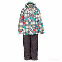 Демисезонный комплект утепленный для мальчика 2-10 лет (Р. 92-140, куртка, брюки) ТМ Deux par Deux W54S-964