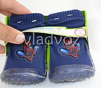 Носки с силиконовой подошвой антискользящие 12-18 месяцев Tom. m. синие C-T32-12