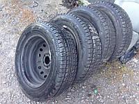 Б/у Диск колесный металлический с шиной 205/65 R16C Renault Trafic