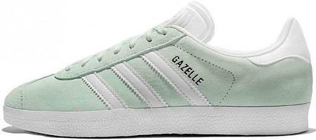 Женские кроссовки AD Gazelle Ice Mint . ТОП Реплика ААА класса., фото 2