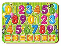 Изучаем цифры с примерами, цвет., 091204