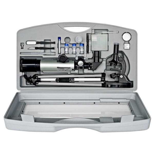 Микроскоп Bresser Junior 300x-1200x + Телескоп 50/350