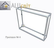Конструктор (каркас) витрины и прилавки из алюминиевого профиля (2578)1449,2576,2721