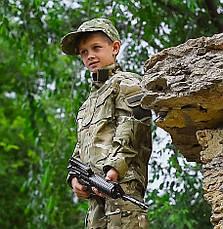 Костюм военный камуфляжный детский ARMY KIDS Киборг 140-146 МТР 17-255, фото 3