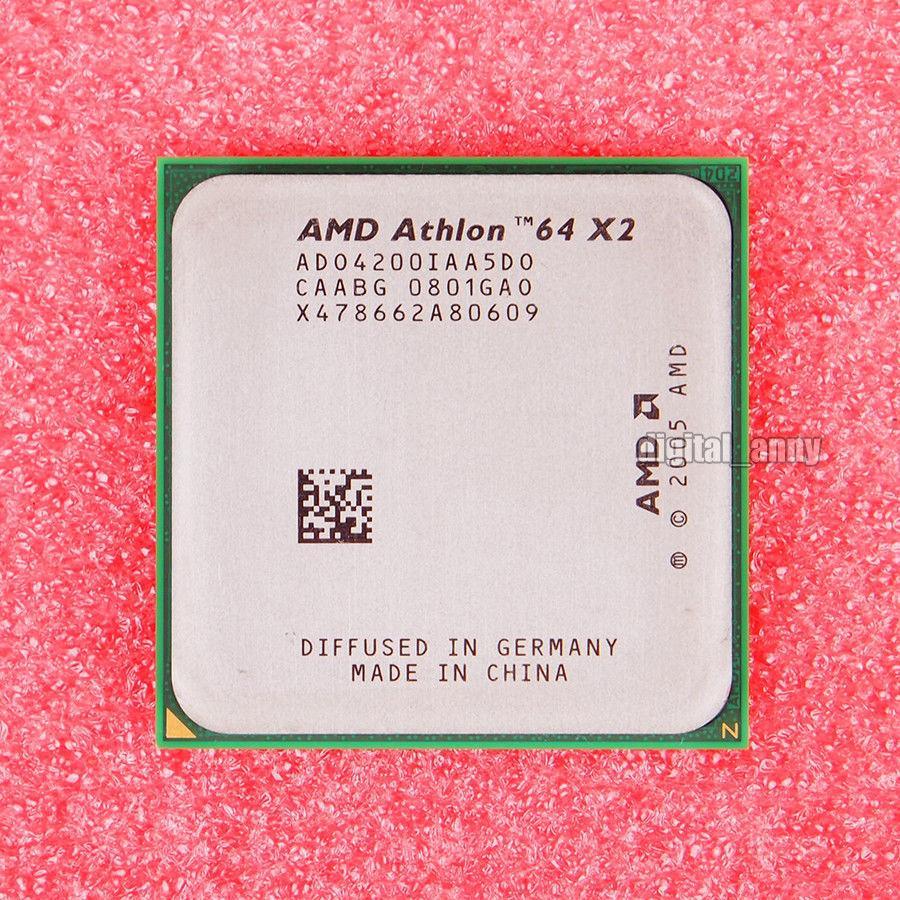 Процессор AMD на Socket am2 на 2 ЯДРА ATHLON 64 X2 4200 ( 2 по 2.2 Ghz) sam2 am2+ 4200+ с ГАРАНТИЕЙ