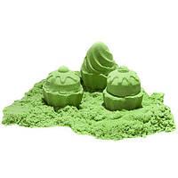 Кинетический песок зеленый - 1000 грамм