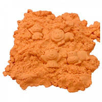 Кинетический песок оранжевый - 1000 грамм
