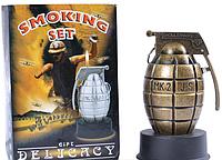 Пепельница + зажигалка Граната №1983SO