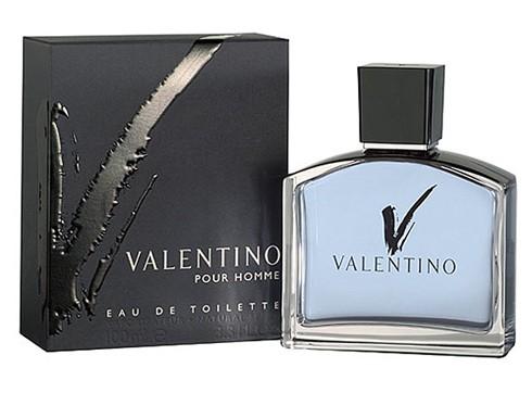 Valentino V Pour Homme туалетная вода 100 ml. (Валентино Ве Пур Хом)