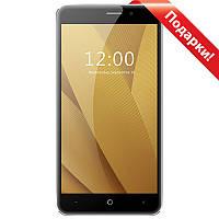 "Смартфон 5.5"" LEAGOO M5 Plus, 2GB+16GB Серый 4 ядра Gorilla Glass Android 6.0 камера 13+5 Мп селfи в подарок"