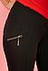Лосины брючные утепленные с молниями размер M,56, фото 3