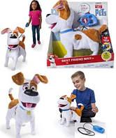 Интерактивная собака Макс на управлении, Тайная жизнь домашних животных, Secret Life of Pets Max из США, фото 1