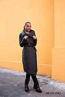 Женская осенняя стеганная куртка (пальто) 08330 (04)