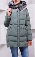 ПП Украина Стильная зимняя куртка  Ася от 44 до  54 размера