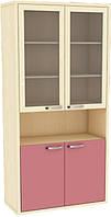 Шкаф для документов со стеклом ШК 2-16 (103)