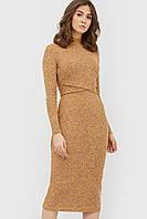 """Платье """"DOUS"""" горчичный осень"""