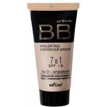 BB cream - крем для лица комплексный дневной 7 в 1 SPF15, тон 01 - натуральный, 30 мл