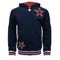 Спортивная кофта украшенная звездами