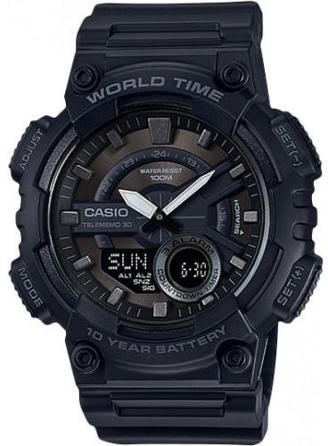 Наручные мужские часы Casio AEQ-110W-1BVEF оригинал