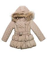 Стеганое утепленное пальто для малышки итальянской фирмы Byblos