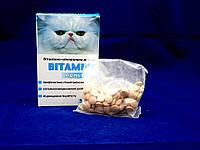 Витамикс Мультивит, витаминно-минеральная добавка для котов - 100 таблеток