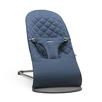 Кресло-шезлонг BabyBjorn Balance Midnight blue Mesh 6015, фото 1