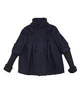 Кашемировое синее пальто итальянской фирмы Byblos