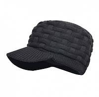 Водонепроницаемая шапка DexShell с козырьком Beanie Peaked DH393