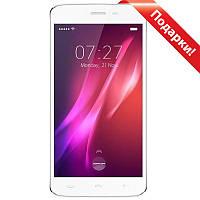 "Смартфон 5.5"" HOMTOM HT27, 1GB+8GB Белый 4 ядра Touch ID камера 8 Мп 3000 mAh Android 6.0 + селfи в подарок"