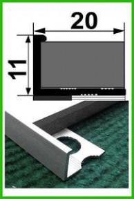 Профіль алюмінієвий АП10 1,8м (в асортименті) ПП
