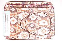 Набор в ванную 3-ка (травка провелюренная) Carpet размер 50/80 см MG514