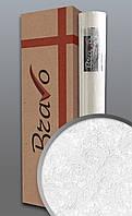 Обои в стиле прованс EDEM 83006BR60 Флизелиновые обои под покраску рельефные матовые белые 1 упаковка с 4 рулонами 106 м