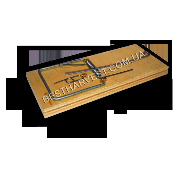 Мышеловка 115х49мм (средняя), деревянная механическая