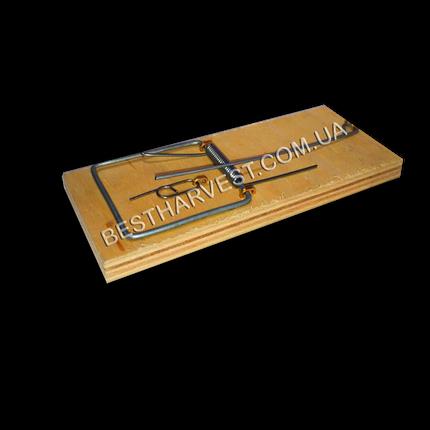 Мышеловка 115х49мм (средняя), деревянная механическая, фото 2