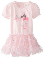 Платье ABSORBA (США) 0-3мес, 3-6мес