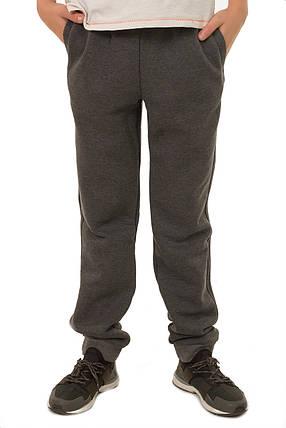 Детские теплые спортивные брюки на мальчика подростка, в расцветках, р.128-152, фото 2