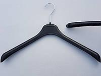 Плечики вешалки пластмассовые  GV-42 черные, 42 см