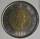 2 долара 1999 Канада - Шаман, фото 2