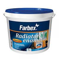 Эмаль акриловая Farbex для радиаторов белая 3 л