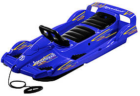 Санки Alpen Double Race синие