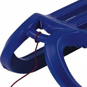 Санки Alpen Rodel синие, фото 2