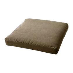 Декоративная подушка на стул модель 1 квадратная Порох