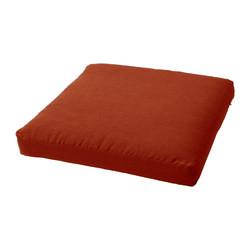 Декоративная подушка на стул модель 1 квадратная Винный